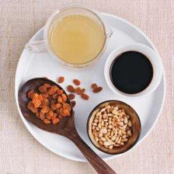 Balsamic, Raisin, and Pine Nut Sauce