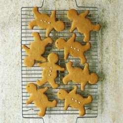 Old-Fashioned Gingerbread Men