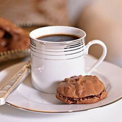 Chocolate-Pecan Macaroons recipe