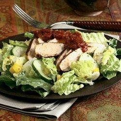 Blackened Chicken Salad with Tomato Chutney