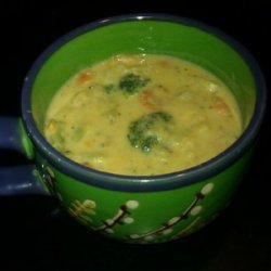 Creamy Potato Soup (w/ Vegan option)