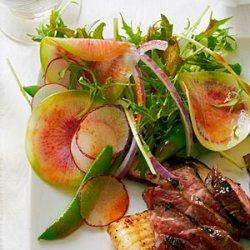 Summer Radish Salad with Sweet Chili Vinaigrette recipe
