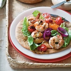 Grilled Shrimp  Souvlaki