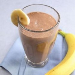 Banana-Cocoa Soy Smoothie