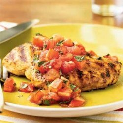 Grilled Chicken with Italian Salsa