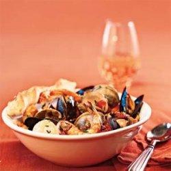Quick Seafood Cioppino
