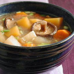 Asian Root Vegetable Stew