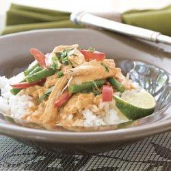 Spicy Chicken-Rice Bowl