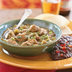 Tequila Pork Chile Verde