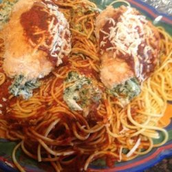 Chicken Parmesan bundles