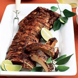 Spice-Rubbed Sticky Ribs