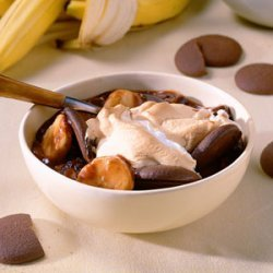 Fudge-Banana Pudding recipe