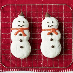 Cute Snowman Cookies recipe