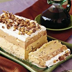 Toffee-Coffee Ice-Cream Torte