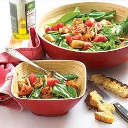 Grilled Shrimp and Arugula Salad