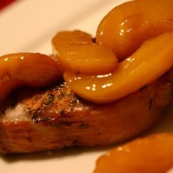 Southern Comfort Peach Mango Pork Chops recipe