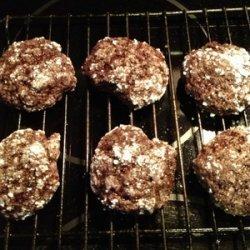 Gluten free peppermint brownie bites