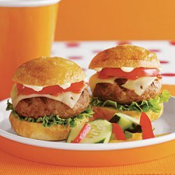 Over-the-Top Turkey Burgers