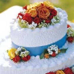 Garden Bridal Cake recipe