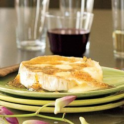 Warm Brie With Ginger-Citrus Glaze recipe