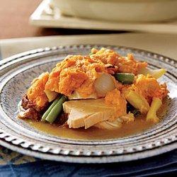 Sweet Potato-Turkey Shepherd's Pie