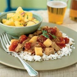 Indian-Spiced Pork in Tomato Sauce
