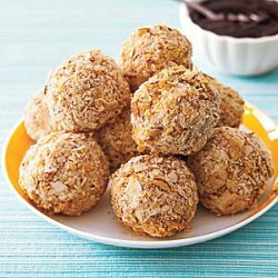 Fried  Ice Cream Truffles