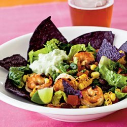 Southwestern-Style Shrimp Taco Salad