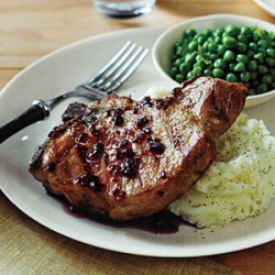 Pork Chops with Tangy Red Currant Sauce recipe