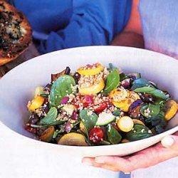 Vegetable Bulgur Salad