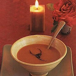 Squash and Sweet-Potato Soup with Chipotle Sauce recipe