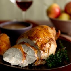Agave-Glazed Turkey Breast with Sherry Gravy