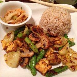 Spicy Tofu and Lemongrass Stir-Fry