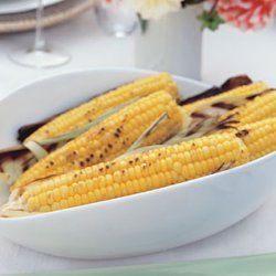 Grilled Corn on the Cob with a Trio of Flavored Butters recipe