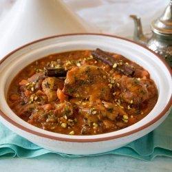 Moroccan-Spiced Chicken Tagine