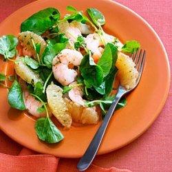 Southeast Asian Grapefruit and Shrimp Salad recipe