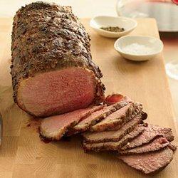 Coriander-Dusted Roast Beef