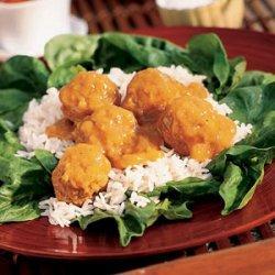 Hot Turkey Curry Salad