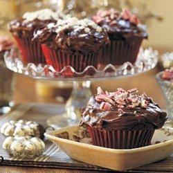 Double Chocolate Surprise Cupcakes