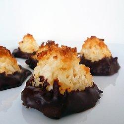 Chocolate-Almond-Coconut Macaroons