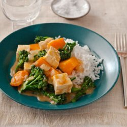 Gingery Butternut Squash and Tofu Curry recipe