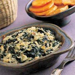 Rice-and-Spinach Gratin with Dill