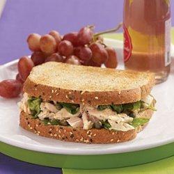 Tuna Florentine Sandwiches with Lemon-Caper Vinaigrette