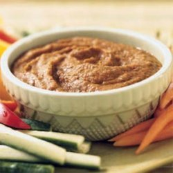 Roasted Red Pepper and Cannellini Bean Dip