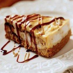 Pumpkin Ice Cream Torte with Ginger Crust