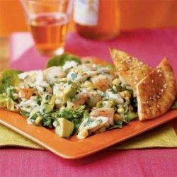 Coconut Crab and Shrimp Salad