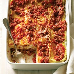 Lasagna with Sausage Ragu Redux