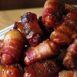 Bacon Wrapped Little Smokies recipe