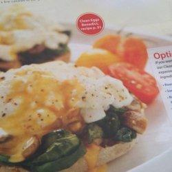Clean Eggs Benedict