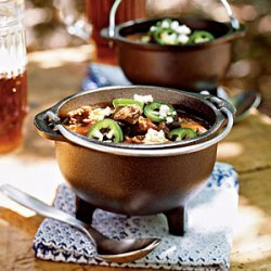 Venison, Sausage, and Black Bean Chili